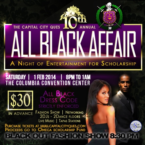 10th Annual All Black Affair
